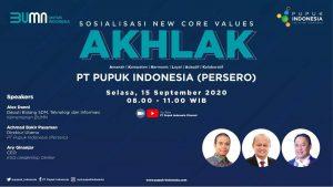 Pupuk Indonesia Grup Nyatakan Komitmen Jalankan Nilai AKHLAK