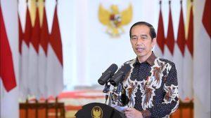 Presiden Joko Widodo Datang Ke Perayaan Natal Virtual