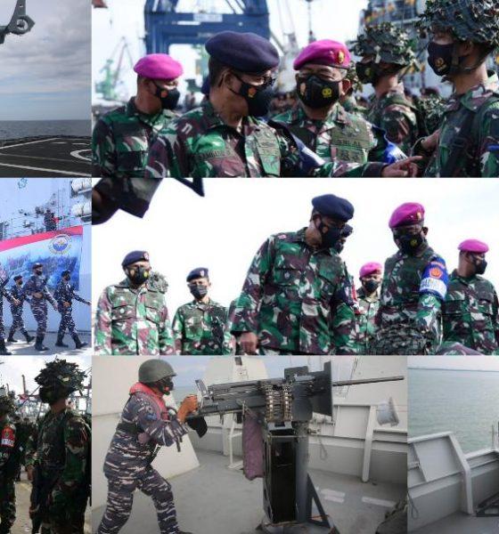 TNI Angkatan Laut (TNI AL) Laksanakan Latihan Pra Armada Jaya