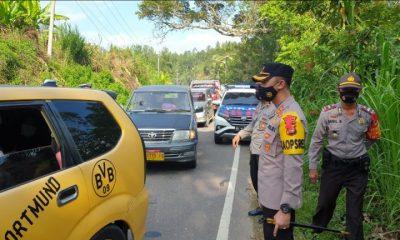 Hari Keenam Operasi Penyekatan, 46 Unit Kendaraan Yang Terjaring Razia Diarahkan Putar Balik – DIVISI HUMAS POLRI – Polripresisi.com