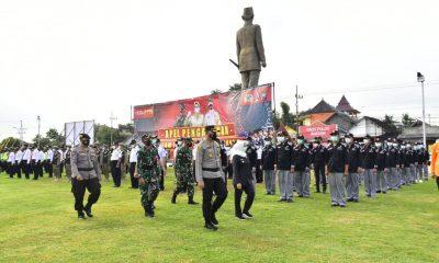 Polres Blitar Bersama Pemkab Dan TNI Gelar apel Pengamanan Malam Takbir dan Idul Fitri. – DIVISI HUMAS POLRI – Polripresisi.com