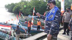 Kasal Resmikan Dian Darat Maluku Tenggara Jadi Kampung Bahari Nusantara