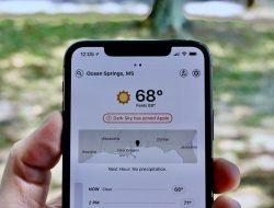 Apple Bakal Hentikan Aplikasi Prakiraan Cuaca Dark Sky