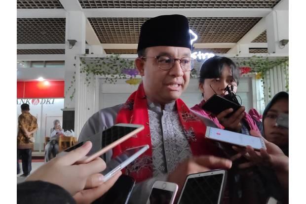 Anies Kunjungi Atlet Jakarta berlaga di PON XX, Netizen Pertanyakan Soal Pilpres 2024